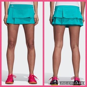 Adidas Advantage Layered Skort Tennis Activewear
